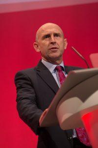 John Healey speaking Shadow Housing Secretary