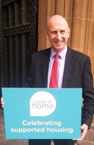 John Healey supported housing