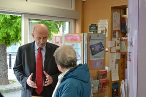 John Healey MP Wath post office