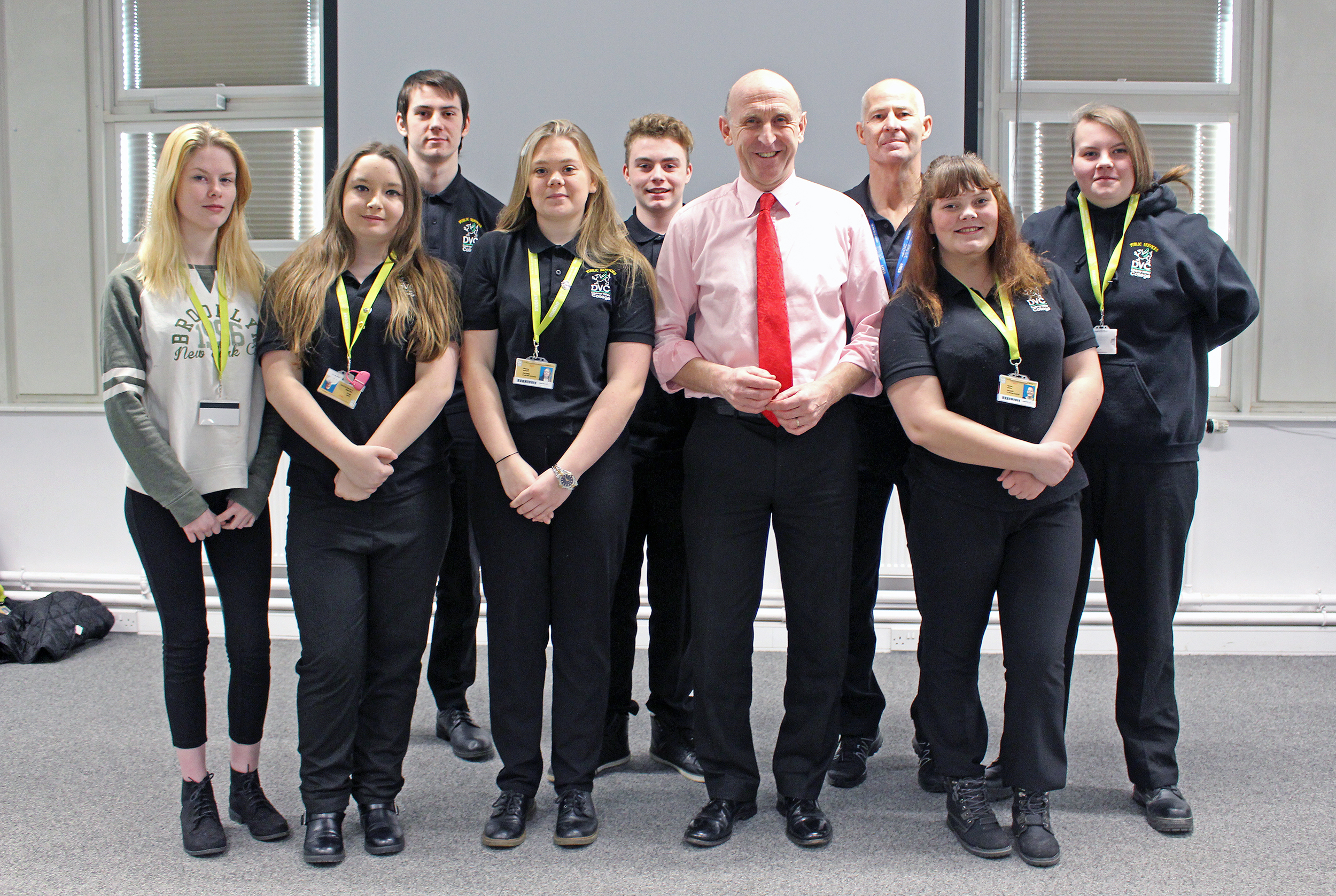 John Healey MP Q&A at Dearne Valley College