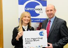 john healey and fiona phillips supporting carers week 2012_be