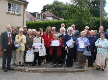john healey and wath residents opposing the 229 bus changes_be