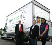 john healey at the launch of the illegal money lending team's partnership with refurnish_be
