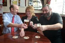 john healey in a pub_be