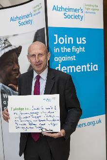 john healey mp at alzheimer's society dementa friends event_be