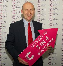 john healey mp supporting cancer research's campaign to save more lives_be