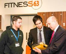 john healey mp with martek marine presenting the new defibrillator to dearne valley college - copy_be