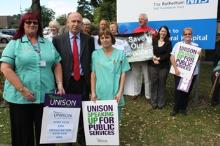 john healey rotherham hospital save our services_be