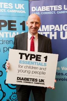 john healey supporting diabetes uk's campaign_be