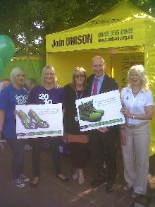 unison stall at rotherham show 2012_be